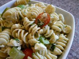Greek Pasta Salad Ingredients: