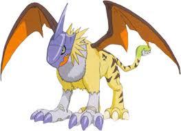 Digimon Adopts Xaki Game Gryphonmon