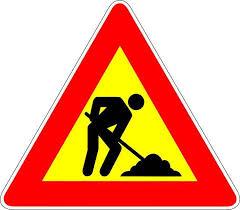 lavori in corso Strada Statale 50 del Rolle: Viabilità modificata per lavori.