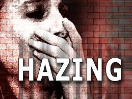 Hazing is a term used to