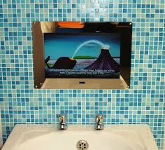 Bathroom television is the most interesting ideas