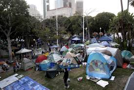 Occupy LA stands out for