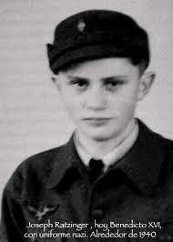 Ratzinguer en su paso por las Juventudes Hitlerianas