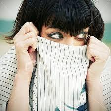 hide face