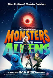 فيلم كارتون Monsters Vs Aliens 2009 مدبلج عربي