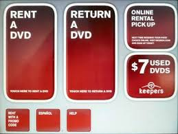 at select Redbox kiosks,