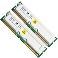 ECC Rambus memory module.