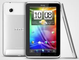 the HTC Flyer tablets