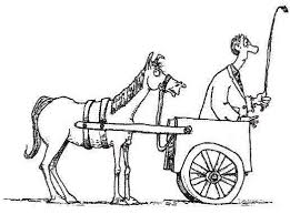 Cart in Front of Horse