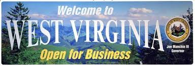 West Virginia: Open For Business (Credit: CityData.com)