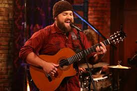 Zac Brown concentrates on his