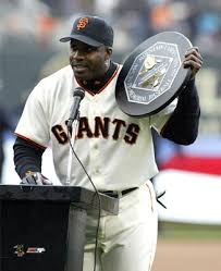 Barry Bonds - With 2001 NL MVP