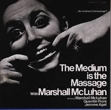 El medio es el mensaje.Marshall McLuhan