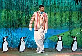 "Dick van Dyke in ""Mary Poppins"""