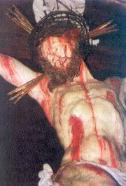 Der PROZESS Jeschua aus jüdischer Sicht –14- > Sein BLUT komme über uns < 180px-Blut%C3%BCberstr%C3%B6mter_JESUS