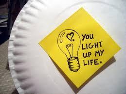 you light up my life.
