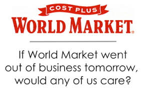 Would You Miss World Market?