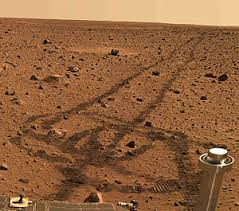 of rover on Mars