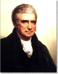 Portrait of John Marshall. - john_marshall