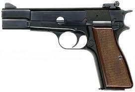 Liste des répliques - Partie I, les répliques de poing [achevée] Pistol_Browning_HP_american