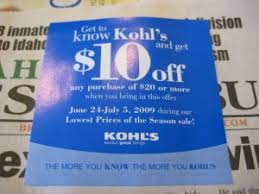 Kohls $10 off coupon
