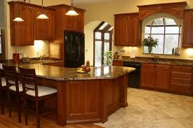 granite kitchen countertops with full backsplash