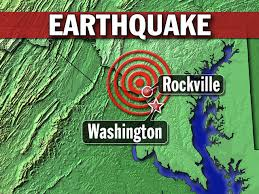 a earthquake hit D.C. .