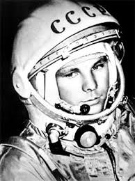 The diminutive Gagarin, who