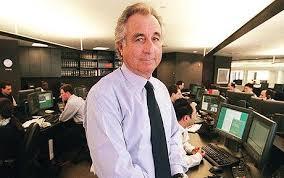 Bernie Madoff, a former