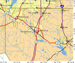 Waxahachie, TX map