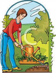 والعناية 6023_woman_hoeing_a_garden.jpg
