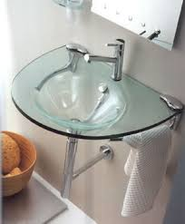 TOP Design Bathroom accessories Regia Scultura Glass