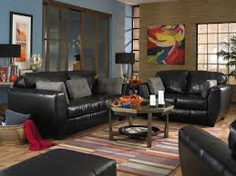 Leather living room furniture is not only functional but attractive as well