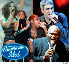 the American Idol stage