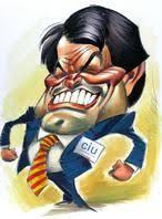 Caricatura de Artur Mas