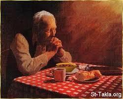 St Takla org   Man praying