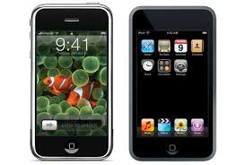 Picture of Ipod Touch and Iphone