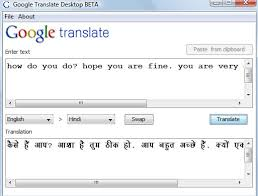 Simple Fun With Google Translate