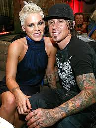 Pink and Carey Hart Back