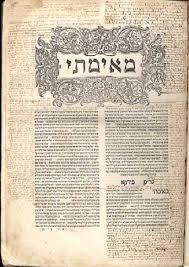 Licht und Schatten Talmud