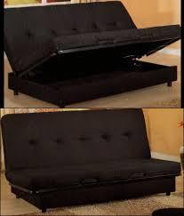 Futon Sofa With Storage Area