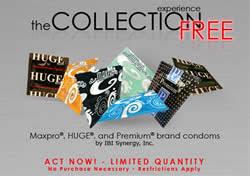 free condoms sample