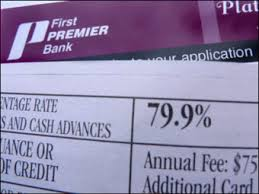 B1: CREDIT CARD Companies have New Trick, 79.9 percent interest rate!!