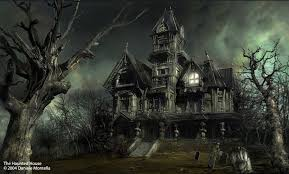 haunted house is?