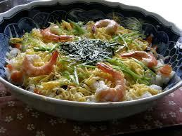 sushi Chirashi-zushi