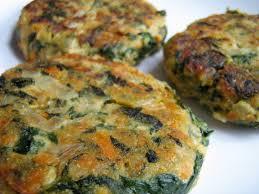 Secondi vegetariani – polpette di spinaci e fiocchi di latte