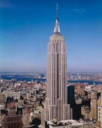 The Empire State Building will