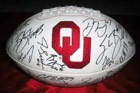 Autographed OU Football