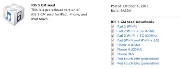 download ios 5 Gold Master
