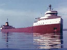 The SS Edmund Fitzgerald on